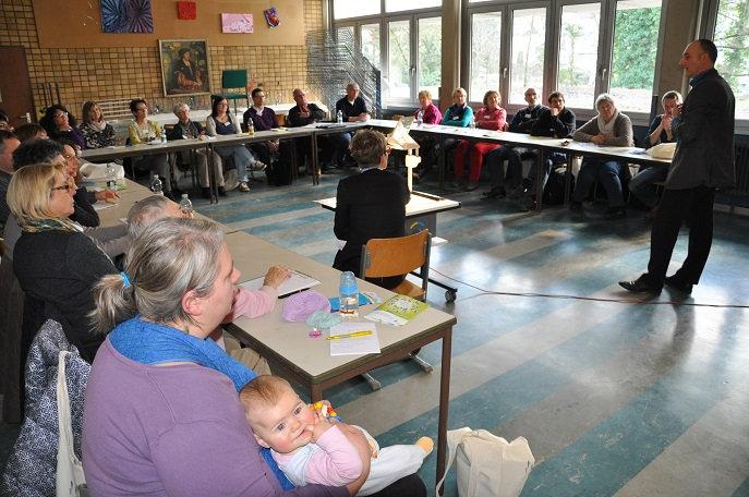 Ein Workshop beim Tag für Engagierte in Lahr; Quelle: Rolf Pfeffer / ZfK