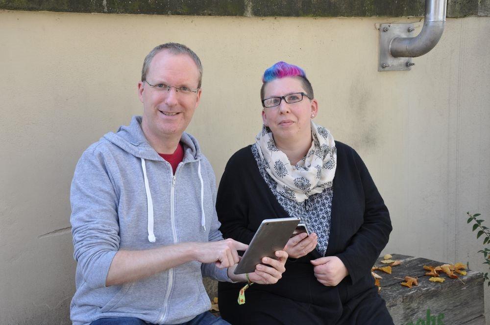 Projektkoordinatoren Ulli Naefken und Simon Heidbrink; Quelle: Alexandra Weber