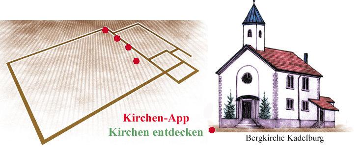 Quelle: EKD-Kirchenapp/Bearbeitet A. Wohlfeil